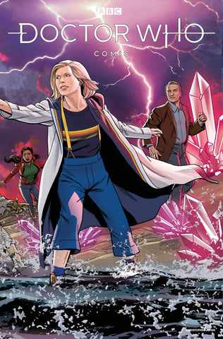 DOCTOR WHO COMICS #4 JONES VARIANT