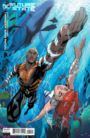 FUTURE STATE AQUAMAN #1 CARD STOCK VARIANT