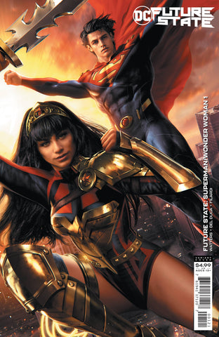 FUTURE STATE SUPERMAN/WONDER WOMAN #1 CARD STOCK VARIANT