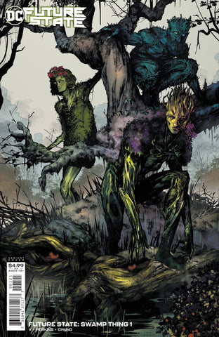 FUTURE STATE SWAMP THING #1 CARD STOCK VARIANT