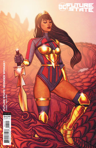 FUTURE STATE WONDER WOMAN #1 CARD STOCK VARIANT