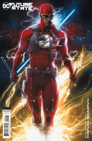 FUTURE STATE THE FLASH #2 CARD STOCK VARIANT