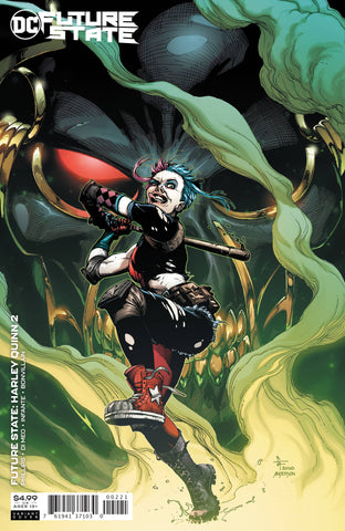 FUTURE STATE HARLEY QUINN #2 CARD STOCK VARIANT