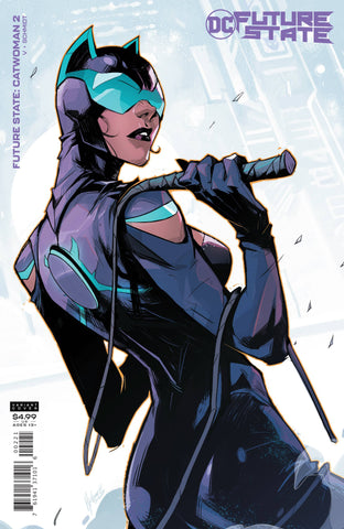 FUTURE STATE CATWOMAN #2 CARD STOCK VARIANT