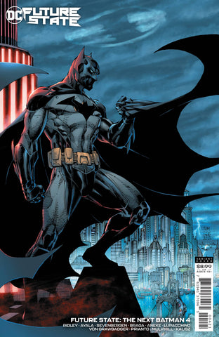 FUTURE STATE THE NEXT BATMAN #4 CARD STOCK VARIANT
