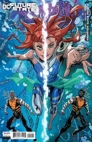 FUTURE STATE AQUAMAN #2 CARD STOCK VARIANT