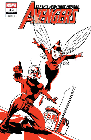 AVENGERS #43 ANT-MAN AND WASP TWO-TONE VARIANT