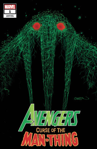 AVENGERS CURSE OF THE MAN-THING #1 GLEASON WEBHEAD VARIANT