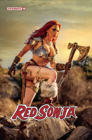 RED SONJA #26 GRACIE COSPLAY VARIANT
