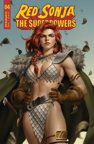 RED SONJA THE SUPERPOWERS #4 YOON VARIANT