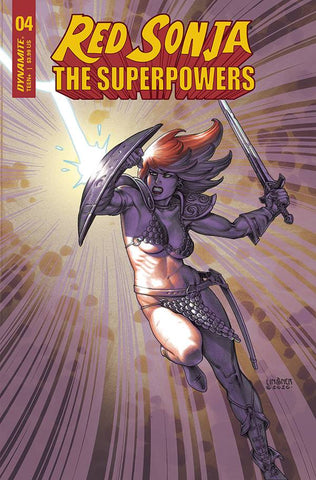 RED SONJA THE SUPERPOWERS #4 LINSNER VARIANT