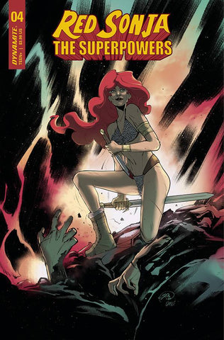 RED SONJA THE SUPERPOWERS #4 PINNA VARIANT