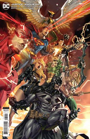 JUSTICE LEAGUE #60 CARD STOCK VARIANT