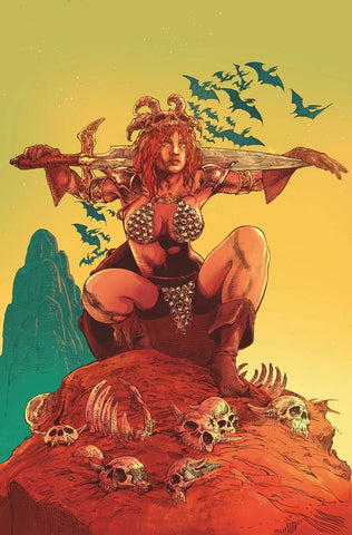 RED SONJA #24 1/15 CASTRO VIRGIN VARIANT