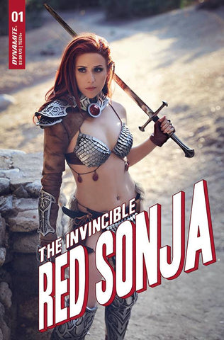 INVINCIBLE RED SONJA #1 DOMINICA COSPLAY VARIANT