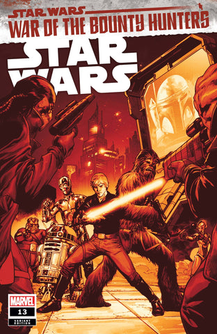 STAR WARS #13 PAGULAYAN CRIMSON VARIANT