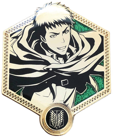 ATTACK ON TITAN JEAN KIRSTEIN GOLDEN SERIES ENAMEL PIN
