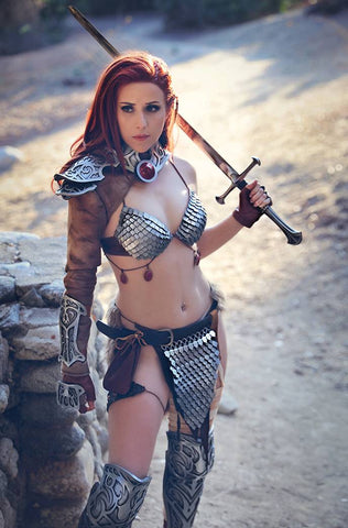 INVINCIBLE RED SONJA #1 1/11 COSPLAY VIRGIN VARIANT
