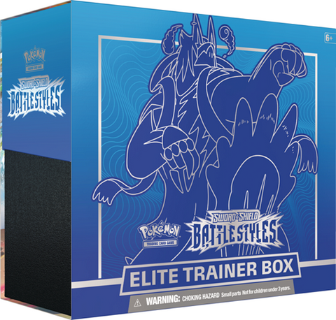 POKEMON SWORD & SHIELD BATTLE STYLES RAPID STRIKE URSHIFU V ELITE TRAINER BOX