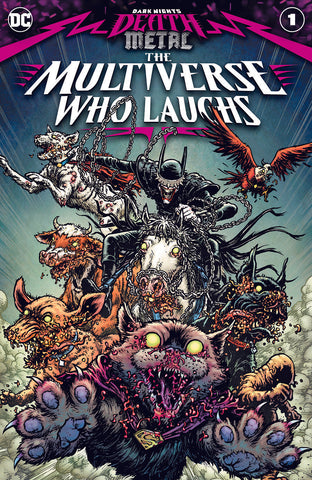 [Preorder] DARK NIGHTS DEATH METAL MULTIVERSE WHO LAUGHS #1 (ONE SHOT) CVR A CHRIS BURNHAM