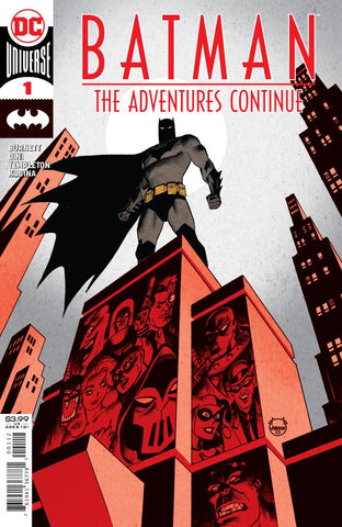 BATMAN THE ADVENTURES CONTINUE #1 2ND PTG RECOLORED VARIANT