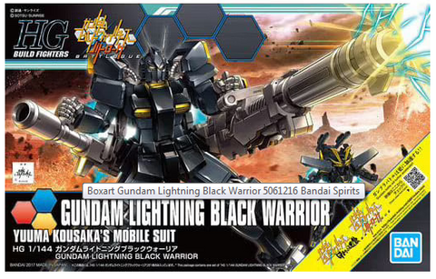 HG 1/144 LIGHTNING BLACK WARRIOR