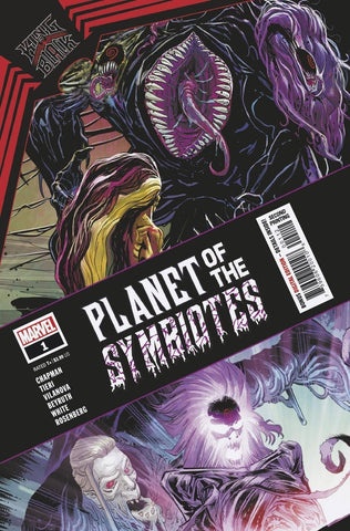 KING IN BLACK PLANET OF THE SYMBIOTES #1 2ND PTG VARIANT