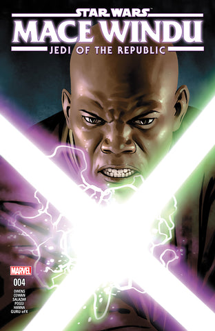 STAR WARS JEDI REPUBLIC MACE WINDU #4