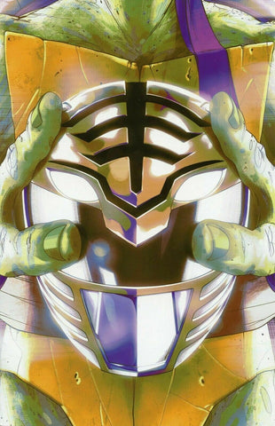 MIGHTY MORPHIN POWER RANGERS TEENAGE MUTANT NINJA TURTLES #5 THANK YOU VARIANT