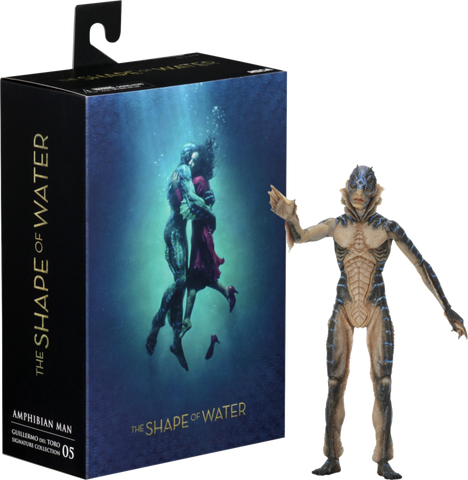 SHAPE OF WATER AMPHIBIAN MAN 7IN
