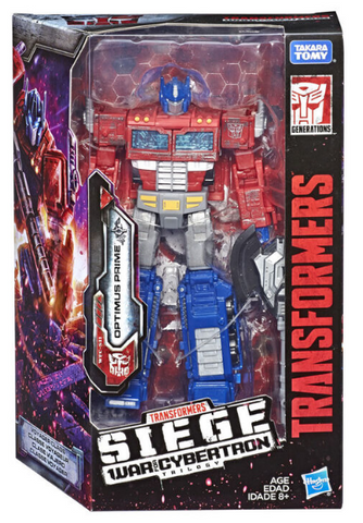 TRANSFORMERS GENERATIONS: WAR FOR CYBERTRON - SIEGE - VOYAGER CLASS OPTIMUS PRIME