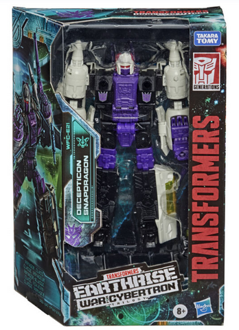 TRANSFORMERS GENERATIONS: WAR FOR CYBERTRON - EARTHRISE - VOYAGER CLASS DECEPTICON SNAPDRAGON