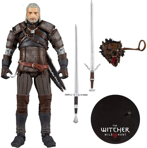 THE WITCHER 3 WILD HUNT GERALT OF RIVIA 7IN