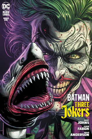 BATMAN THREE JOKERS #1 2ND PTG JOKER SHARK VARIANT