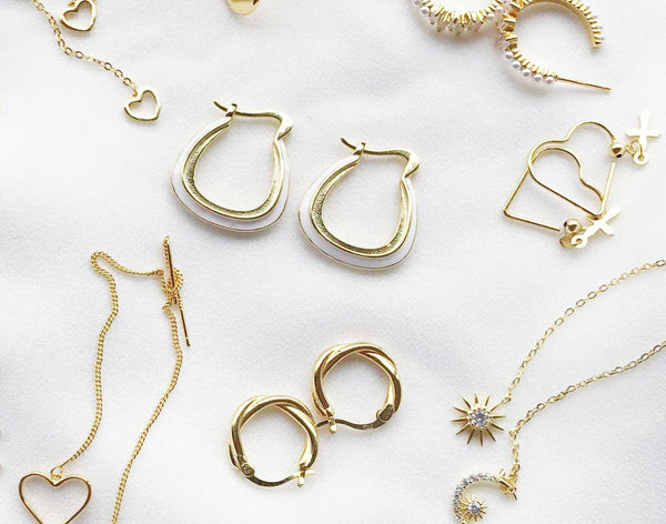 Types of gold jewellery explained
