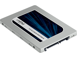 2TB 2.5in (7mm) SATA 6Gb/s Solid-State Drive Crucial MX500 SSD Apple compatible