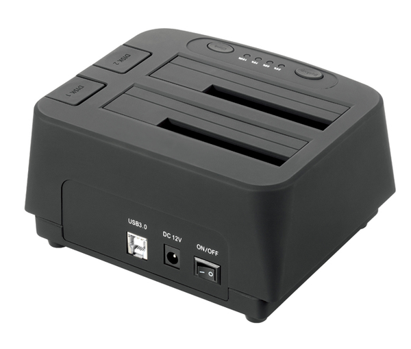 Welland Turbo SATA to USB Dual Bay HDD/SSD Dock