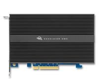 8TB High-Performance PCIe SSD solution OWC Accelsior 4M2 Apple compatible
