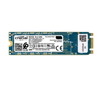 500GB Type 2280 SSD Crucial MX500 M.2 Acer compatible
