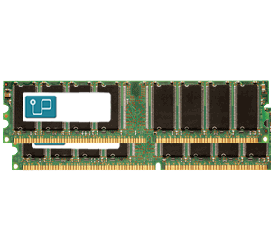 2GB DDR 400 MHz UDIMM (2x1GB)   kit