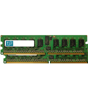 4GB DDR2 667 MHz UDIMM (2x2GB) Dell compatible kit