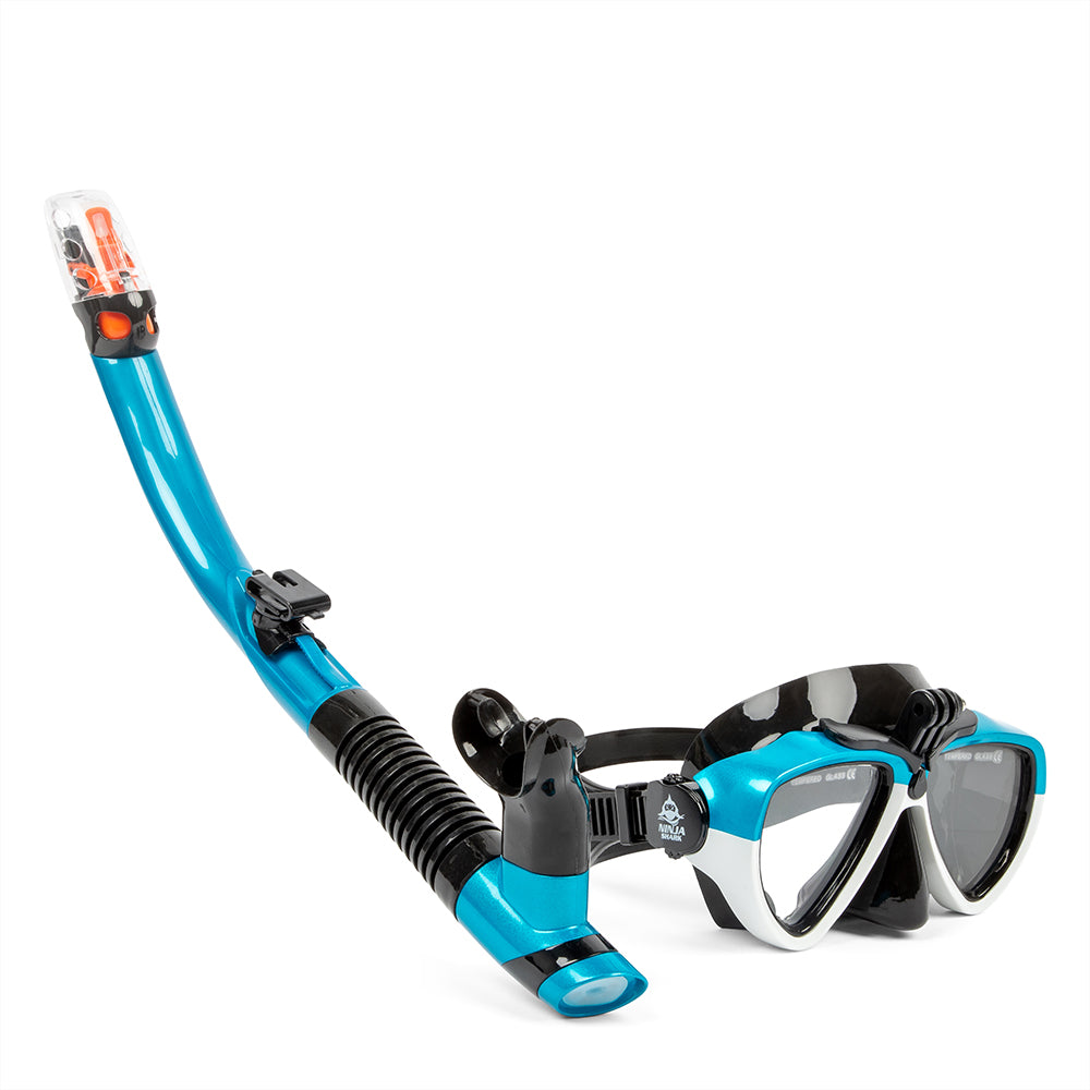 Diving Dry Snorkel Set with GoPro mount