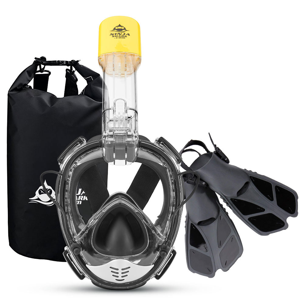 Package: Equaliser PRO Mask + Fins + Bag