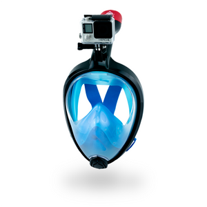 Foldable Full Face Snorkel Mask for Adults