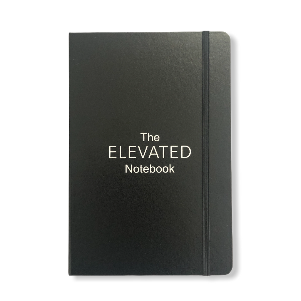 Create Learn Elevate Lined A5 Notebook Journal (Hardback)