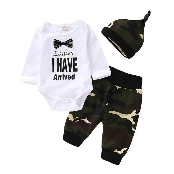 Ladies I Have Arrived Clothing Set