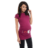 Footie Love Print Maternity T-shirt