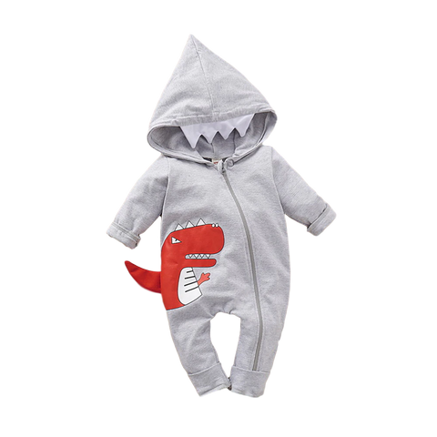 Dinosaur Hooded One-Piece