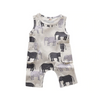 Elephant Sleeveless Romper