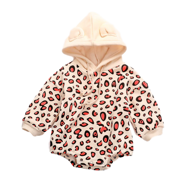 Leopard Hooded Bodysuit